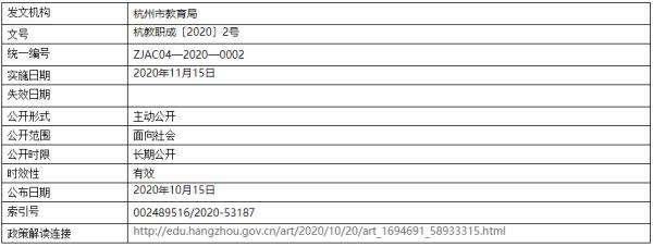 行业正在变天,杭州市教育局发布最新通知