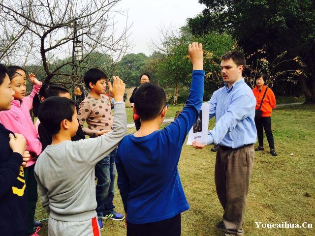 西湖纯外教少儿英语体验课